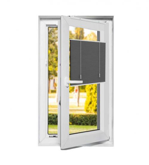 Store plissé pour fenêtre pvc