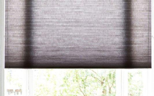 Stores plissés pour un éclairage varié