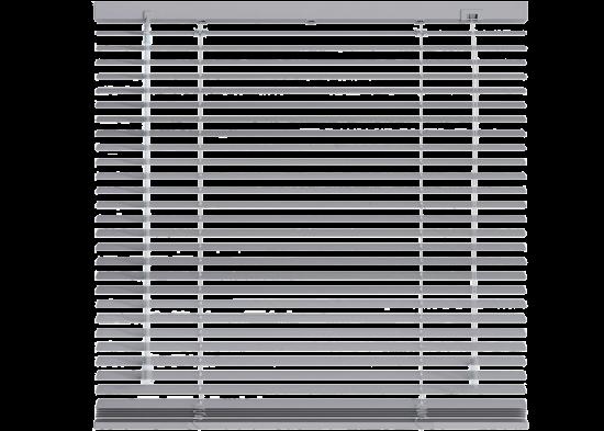 Store vénitien aluminium gris clair mat