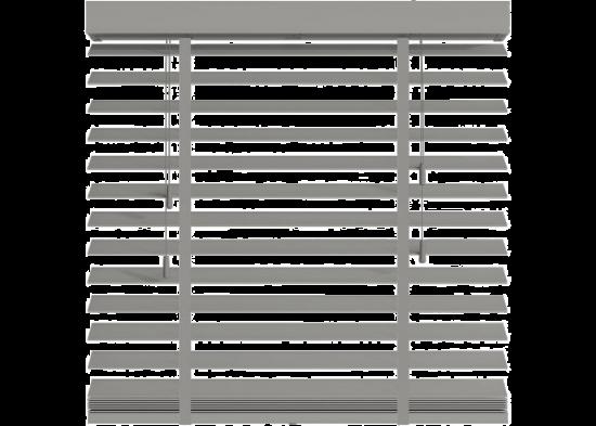 Store vénitien bois gris béton