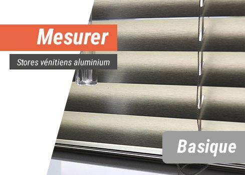 Stores vénitiens aluminium basique