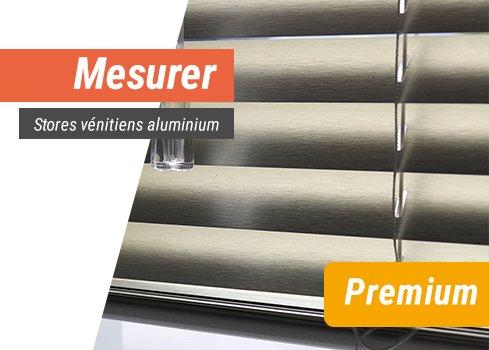 Stores vénitiens aluminium premium