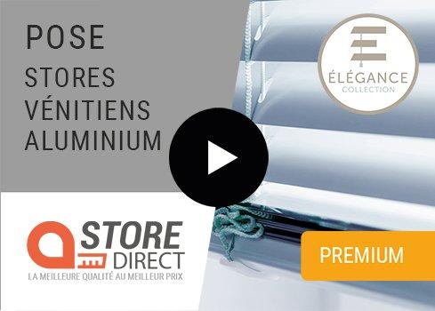 Stores vénitiens aluminium plus & premium (Élégance)