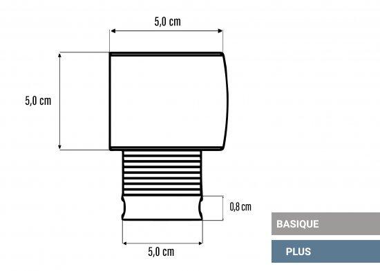 Basique & Plus 50mm