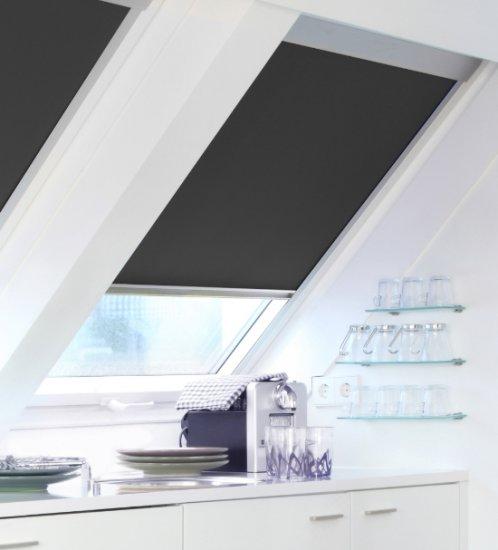 Stores intérieurs occultants pour fenêtres de toit Vélux
