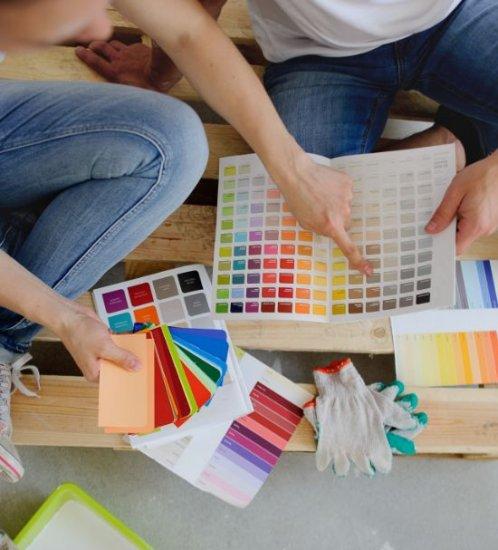 Choisir la mauvaise couleur de peinture