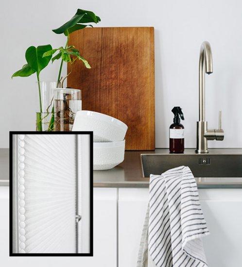 3. Faites de votre cuisine un lieu paisible grâce au polyester