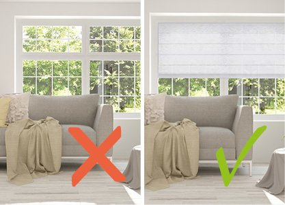 4. La décoration des fenêtres réunit ou brise une déco intérieure