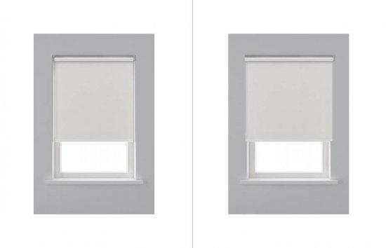 3. Suspendre votre décoration de fenêtre dans le cadre alors que la fenêtre s'ouvre vers l'intérieur