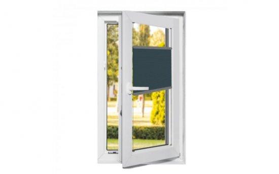 Stores plissés pour fenêtres oscillo-battantes