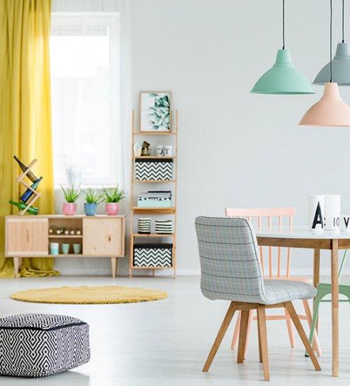 1. Des couleurs printanières  dans votre intérieur