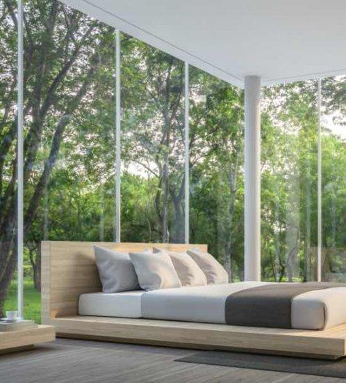 1.Choisissez des stores intérieurs adaptés aux grandes fenêtres