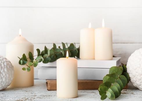 5. Décorez avec des bougies