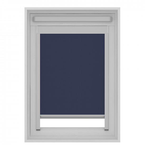 Store Enrouleur Pour Fenêtre De Toit Bleu Foncé Uk04 Store Direct