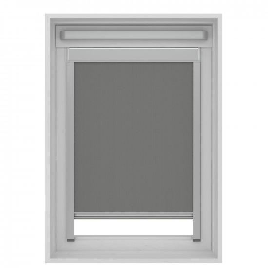 Store enrouleur pour fenêtre de toit gris - SK06