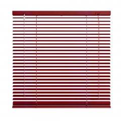 Store vénitien aluminium rouge brillant
