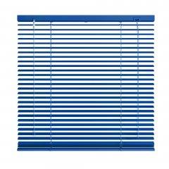 Store vénitien aluminium bleu signal brossé