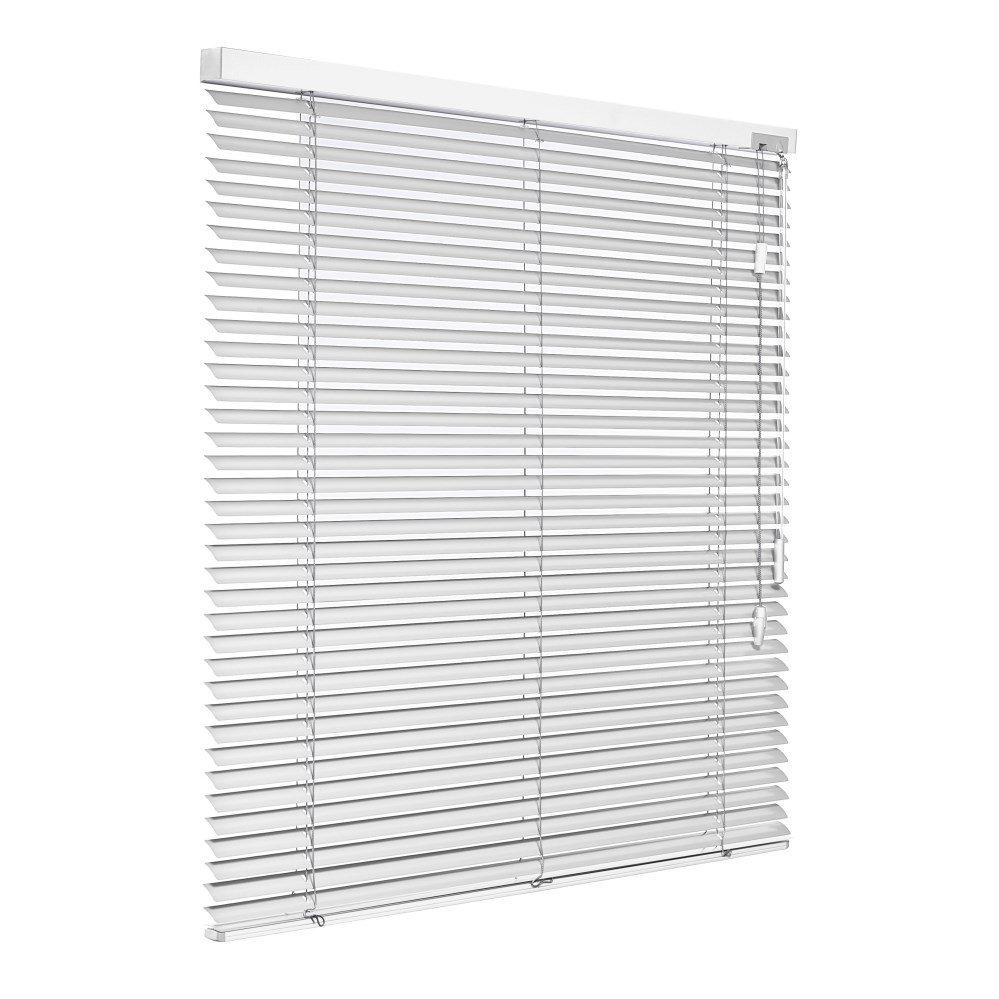 Store vénitien aluminium blanc mat